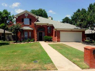 Kennedale Single Family Home For Sale: 509 Coker Valley Drive