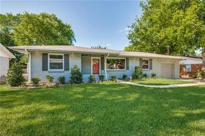 Grapevine Single Family Home Active Option Contract: 1433 Bellaire Drive