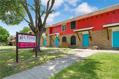 Dallas County, Denton County, Collin County, Cooke County, Grayson County, Jack County, Johnson County, Palo Pinto County, Parker County, Tarrant County, Wise County Multi Family Home For Sale: 2009 El Paso Street