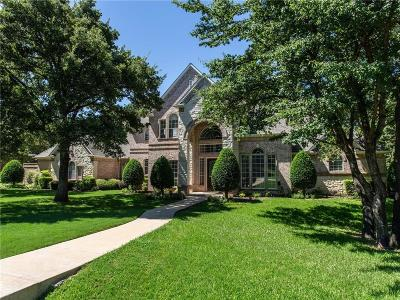 Flower Mound Single Family Home For Sale: 5508 Clear Creek Drive