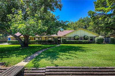 Grapevine Single Family Home Active Option Contract: 1243 Mulholland Drive