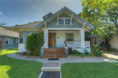 Fort Worth Single Family Home For Sale: 1415 S Henderson Street