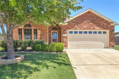 Fort Worth Single Family Home For Sale: 600 Irish Glen Court