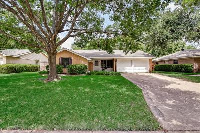 Farmers Branch Single Family Home Active Option Contract: 13227 Belfield Drive