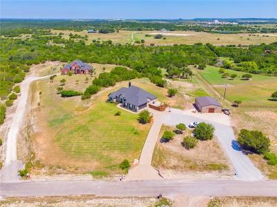 Somervell County Single Family Home For Sale: 1436 Cheyenne Trail