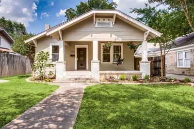 Dallas Single Family Home For Sale: 128 S Brighton Avenue