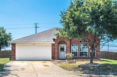 Dallas County, Denton County, Collin County, Cooke County, Grayson County, Jack County, Johnson County, Palo Pinto County, Parker County, Tarrant County, Wise County Single Family Home For Sale: 8054 Genesis Drive