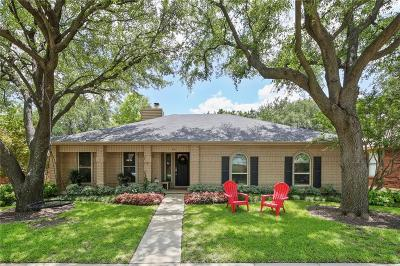 Coppell Single Family Home Active Option Contract: 647 Cribbs Drive