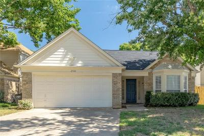 Fort Worth Single Family Home For Sale: 2532 Dahlia Drive