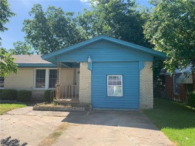 Dallas County, Denton County, Collin County, Cooke County, Grayson County, Jack County, Johnson County, Palo Pinto County, Parker County, Tarrant County, Wise County Single Family Home For Sale: 1504 Rosemont Street