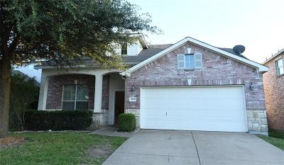 Forney Single Family Home For Sale: 1010 Fredonia Drive