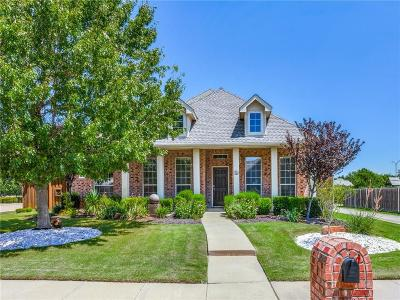 Frisco Single Family Home For Sale: 1522 Castle Pines Drive
