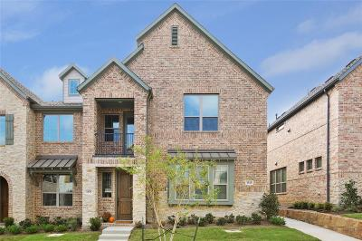 Flower Mound Townhouse For Sale: 1339 Casselberry Drive