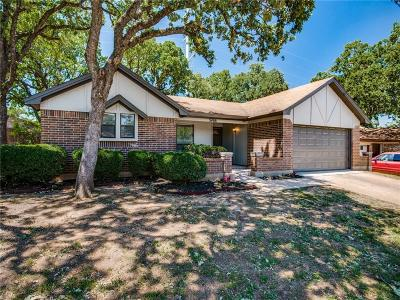 Bedford Single Family Home For Sale: 3408 Meadow Wood Court