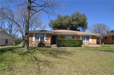 Garland Single Family Home For Sale: 123 W Rio Grande Street