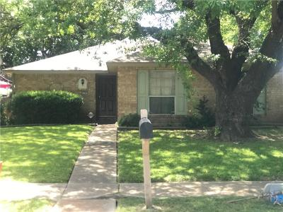 Garland Single Family Home For Sale: 1201 Trinidad Lane