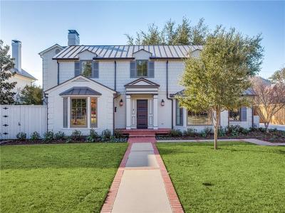 Dallas County Single Family Home For Sale: 6338 Desco Drive
