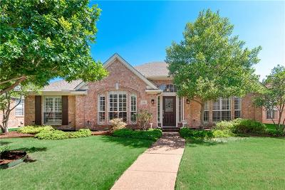 Coppell Single Family Home Active Option Contract: 1503 Falls Road