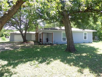 Waxahachie Single Family Home Active Option Contract: 111 Ennis Street