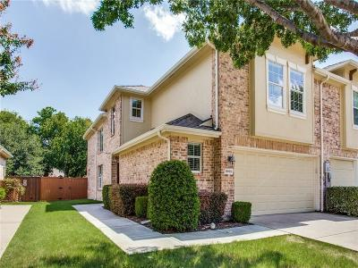 Collin County, Denton County Townhouse For Sale: 9959 Wake Bridge Drive