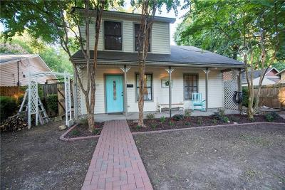 Waxahachie Single Family Home Active Option Contract: 704 W Jefferson Street