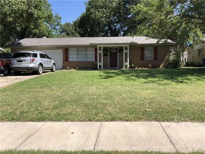 Carrollton Single Family Home For Sale: 1815 Tartan Drive