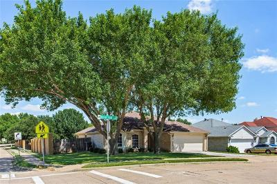 Grand Prairie TX Single Family Home Active Option Contract: $205,000