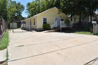 Fort Worth Single Family Home For Sale: 2506 Dundee Avenue