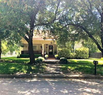 Mexia Single Family Home For Sale: 508 E Main Street