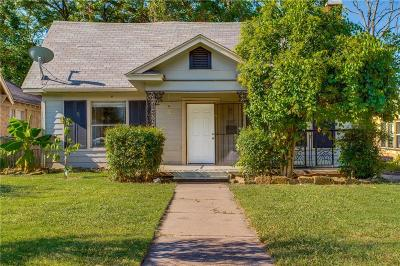 Dallas County Single Family Home For Sale: 3218 Culver Street