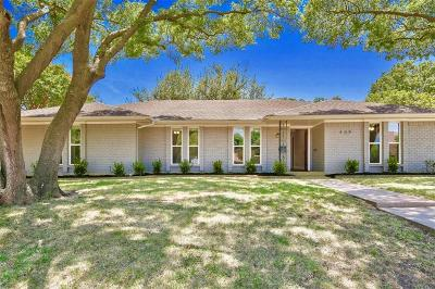 Richardson Single Family Home For Sale: 409 W Lookout Drive