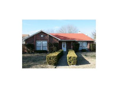 Rowlett Single Family Home For Sale: 9417 Grant Drive