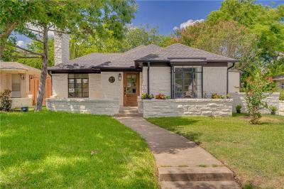 Dallas Single Family Home For Sale: 6107 Anita Street