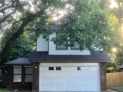 Lewisville Single Family Home Active Option Contract: 950 Boxwood Drive