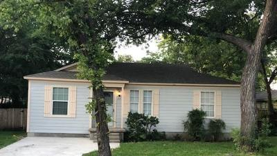Garland Single Family Home For Sale: 133 W Avenue G