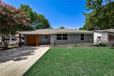 Dallas Single Family Home For Sale: 7643 Rosemont Road