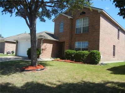 Little Elm Single Family Home For Sale: 1922 Marble Falls Lane