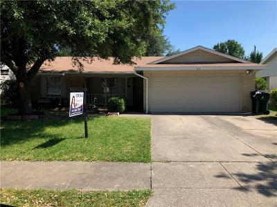 Garland Single Family Home For Sale: 914 Greencove Drive