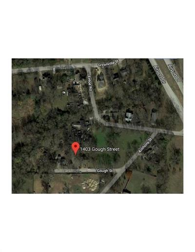 Residential Lots & Land For Sale: 1403 Gough Street