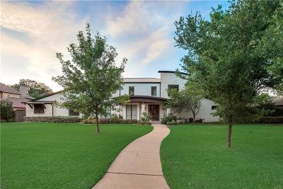 Dallas Single Family Home For Sale: 4319 Bobbitt Drive