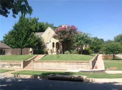 Fort Worth Residential Lease For Lease: 1900 Clover Lane