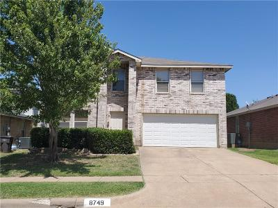 Fort Worth Residential Lease For Lease: 8749 Hunters Trail