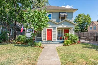 Dallas Multi Family Home For Sale: 4820-22 Worth Street