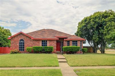 Cedar Hill Single Family Home For Sale: 1101 Grounds Road