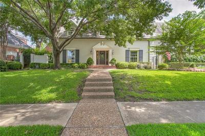 Fort Worth Single Family Home For Sale: 4005 Monticello Drive