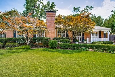 Single Family Home For Sale: 5738 Greenbrier Drive