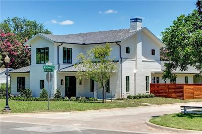 Fort Worth Single Family Home For Sale: 700 N Bailey Avenue