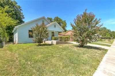 Fort Worth Single Family Home For Sale: 1825 Carver Avenue