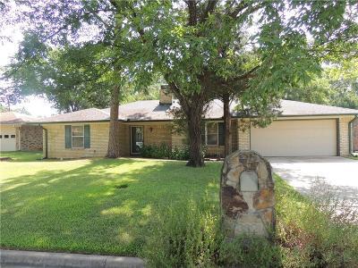 Denison Single Family Home For Sale: 3621 Oakwood Dr