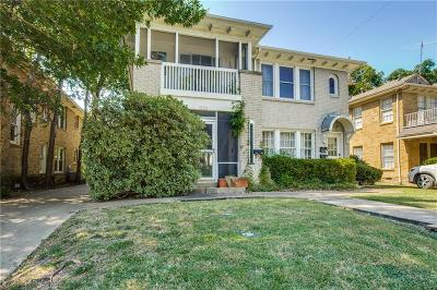 Dallas County, Denton County, Collin County, Cooke County, Grayson County, Jack County, Johnson County, Palo Pinto County, Parker County, Tarrant County, Wise County Multi Family Home For Sale: 4120 Herschel Avenue